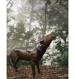 Lykaon – Bronzefigur eines Wolfs