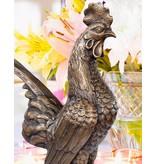 Gallus – Bronzeskulptur eines Hahns
