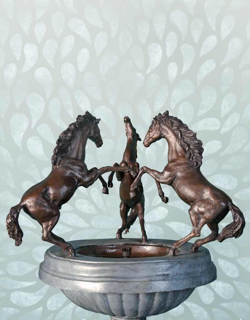 Fontaine Philip – Pferdespringbrunnen grün