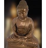 Sitzender Buddha – Bronzeskulptur