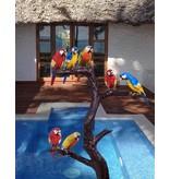Grands Perroquets – Extravaganter Papageienbaum