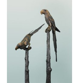 Perroquets a Deux – Braunes Papageienpaar