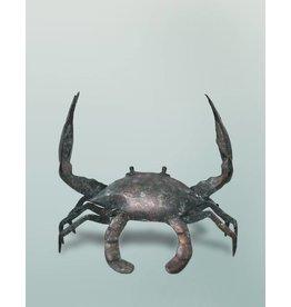 Brachyura – Bronzefigur einer Krabbe
