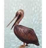 Pelecanus – Lebensgroßer Pelikan Wasserspiel