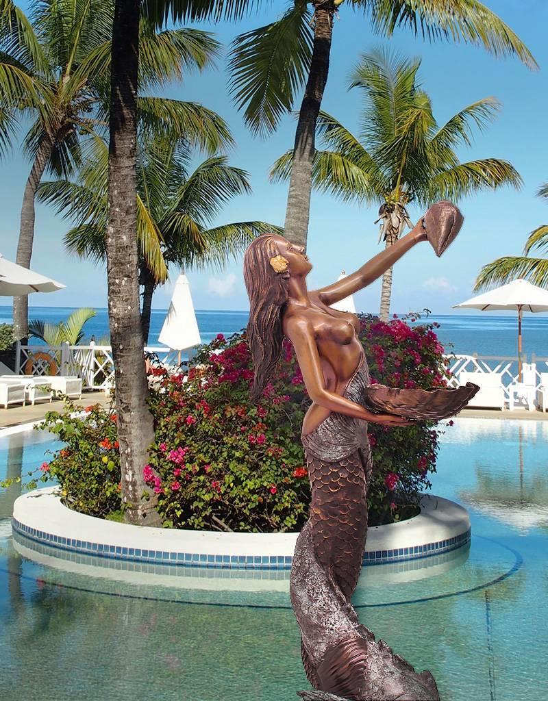 Sirene Petite Coquille – Meerjungfrau Wasserspiel