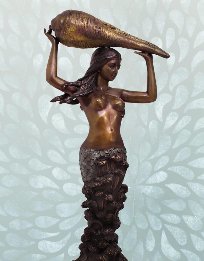 Sirene Grande Coquille – Meerjungfrau Wasserspiel