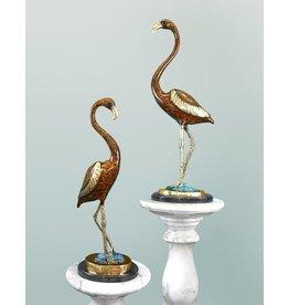 Phoenix Braun – Flamingo Paar