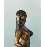 Grande Filomena – Sinnliche Frauenskulptur Bronze