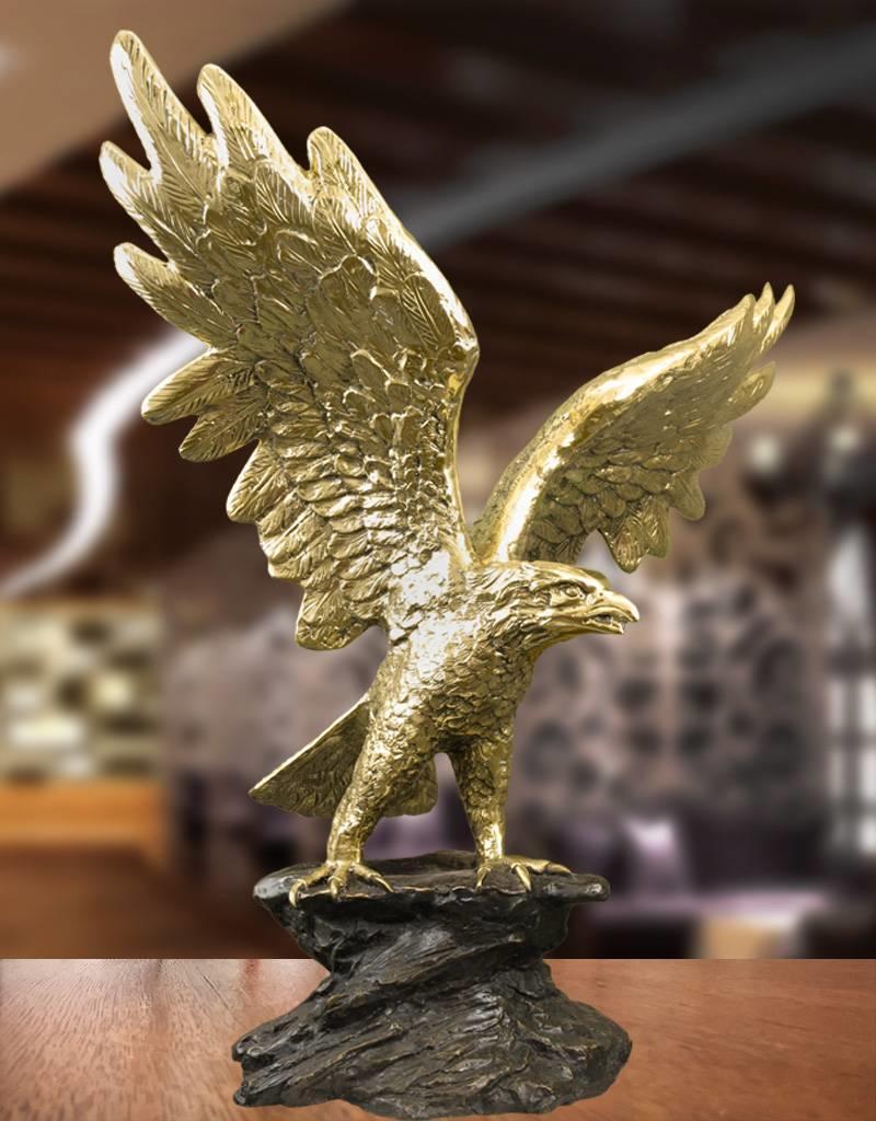 Gold Argos – Adler Bronzefigur
