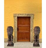 Circum Mios Duett – Löwenpaar Torwächter aus Bronze