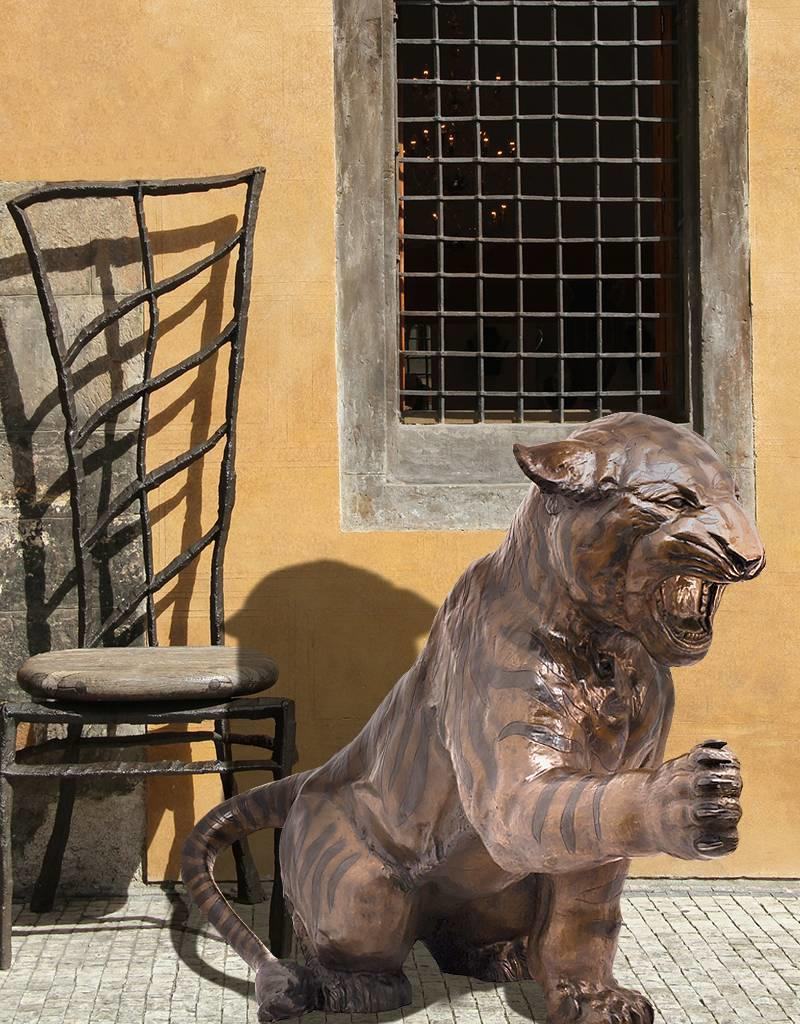 Andres – Sitzender Tiger