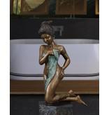 Ophelia – Bronze einer sinnlichen Frau
