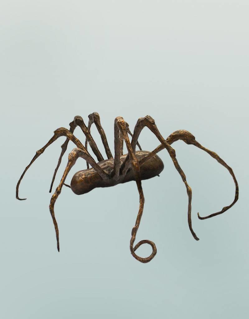 Thekla – Große abstrakte Spinnenskulptur