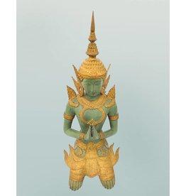 Tempelwächter – Bronzeskulptur
