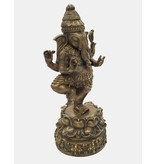 Stehender Ganesha – Bronzeskulptur