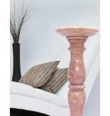 Große Marmorsäule rosé