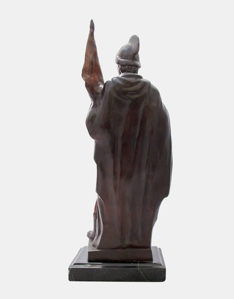 Florian von Lorch – Bronzefigur auf Marmorsockel
