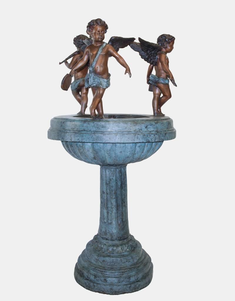 Fontaine Putto – Brunnen mit Engeln
