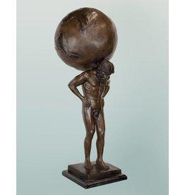 Atlas – Stehende Bronzefigur