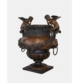 Putti – Große Vase aus Bronze