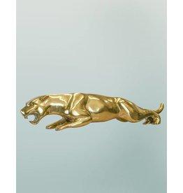 Golden Leaper – Jaguar Bronzefigur