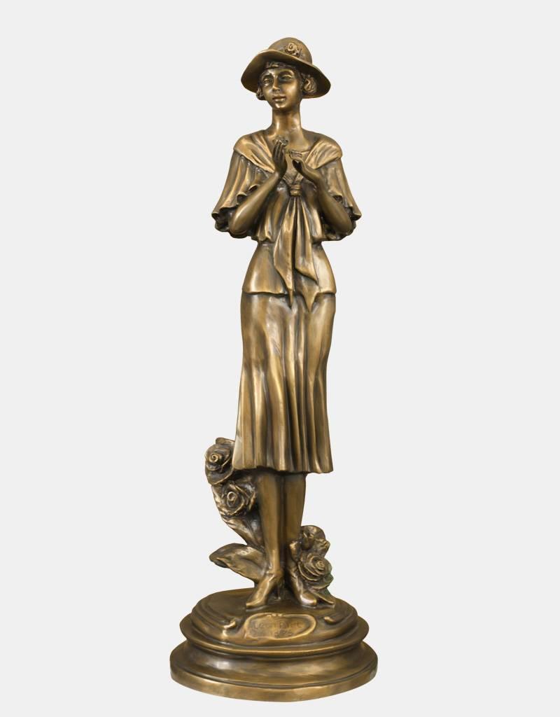 Florentina – Frauenskulptur aus Bronze