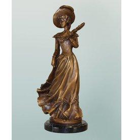 Aemilia – Bronzefigur einer Dame