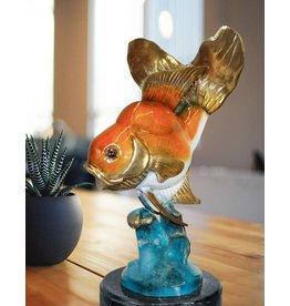 Aquarius – Schleierschwanz Skulptur