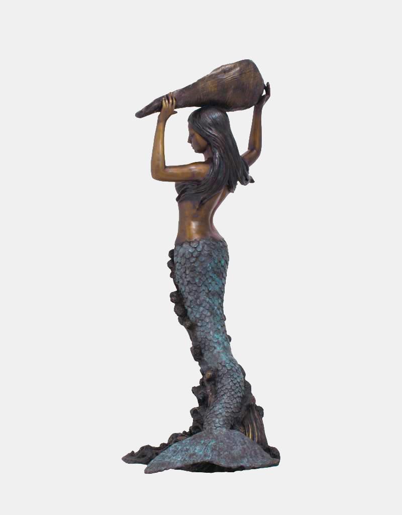 Sirene Grande Coquille – Meerjungfrau Wasserspeier