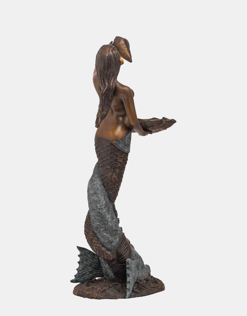 Sirene Petite Coquille – Meerjungfrau Wasserspeier