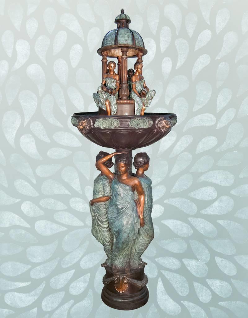 Medina – Springbrunnen aus Bronze