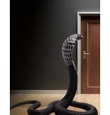 Elapidae - Überlebensgroße Kobra Skulptur