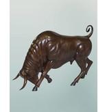 Taurus – Stier Skulptur aus Bronze