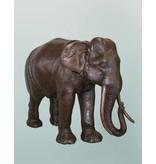 Afrika – Elefant Bronzestatue