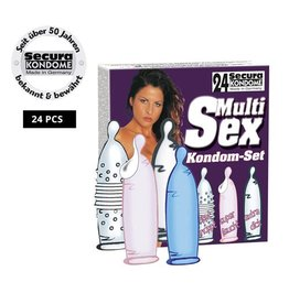 Secura Kondome Secura Multi-Sex 24er