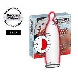 Secura Kondome Secura Longtime Lover -3 Stück