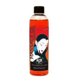 Shiatsu Shiatsu Massageöl - Warming - 250ml