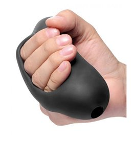 Palm-Tec Masturbator mit Griff in Schwarz