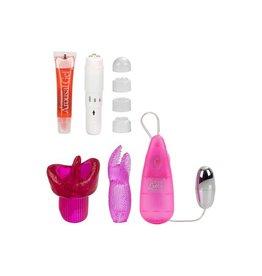 CalExotics Klitoris-Massagen Set - Clit Massager Set