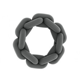 SONO NO. 6 Chain Cockring Grey