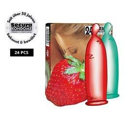 Secura Kondome Secura Fruit-Mix 24er