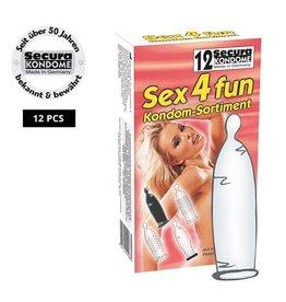 Secura Kondome Secura Sex4fun Kondome - 12 Stück