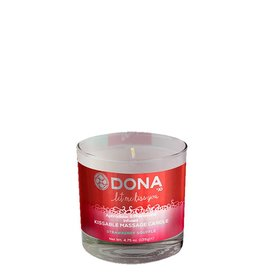 Dona-by-Jo Dona Kissable Massage Candle Strawberry - 135g