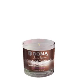 Dona-by-Jo Dona Kissable Massage Candle Chocolate - 135g