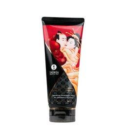 Shunga Kissable Massagecreme - Erdbeerwein - 200ml