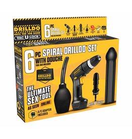 Drilldo Drilldo 6-teiliges Spiral Set