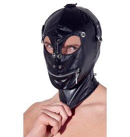 Fetish Collection Lederimitat-Kopfmaske