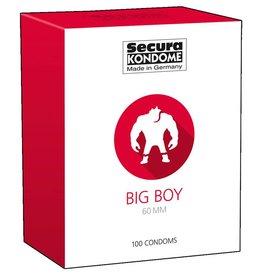 Secura Kondome Big Boy Kondome - 100 Stücke