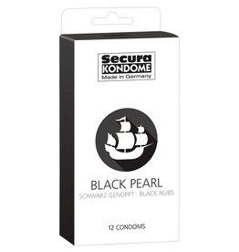 Secura Kondome Secura Black Pearl Kondome - 12 Stück