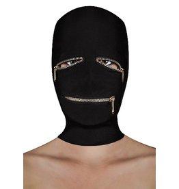 Ouch Reißverschlussmaske mit Reißverschlüssen für Augen und Mund